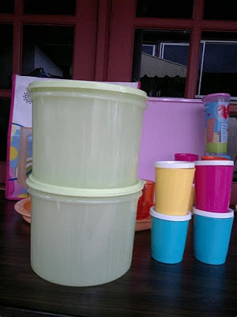 Tupperware Textured Canister get your tupperware ready stocks year end sale