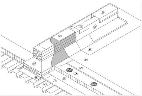 Roof Sleeper Detail by Sbs Details D1 7 6 1 Curbs Sleepers Equipment Sleeper