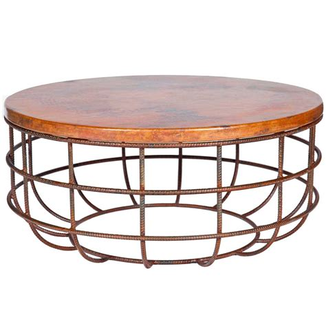 round copper table top coffee tables ideas best round copper coffee table