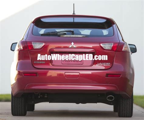 Emblem Mitsubishi Chrome Medium Mitsubishi Lancer Evolution Rear Badge Emblem