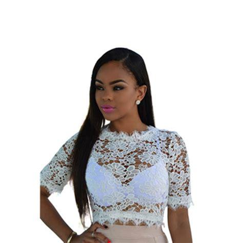Blouse Floral Lipit Blouse putih lubang kemeja promotion shop for promotional putih