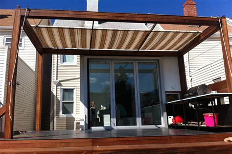 retractable awning for deck manual retractable awnings archives litra usa