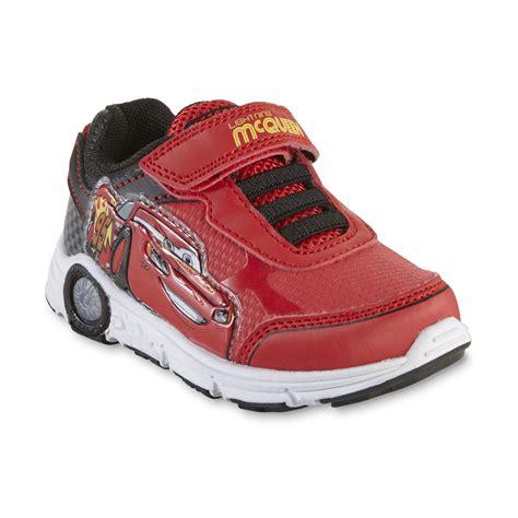 cars sneakers light up disney toddler boys cars light up sneaker