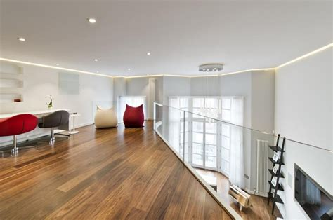 knightsbridge apartment  mezzanine study idesignarch interior design architecture