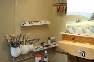 painting at home creating in small studios