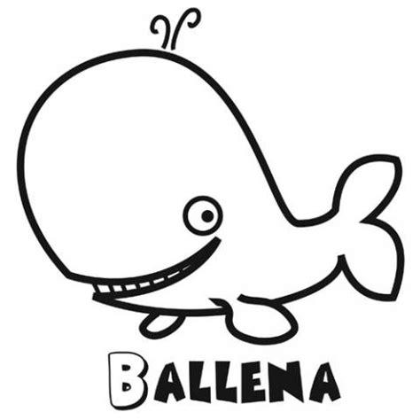 Alat Cat Pintar Facil dibujos de una ballena para colorear dibujos de animales para ni 241 os