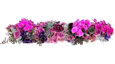 table flower feasting table floral runner