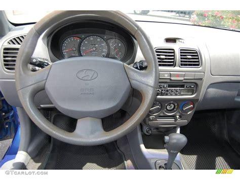 Hyundai Accent 2001 Interior by 2001 Coastal Blue Hyundai Accent Gl Sedan 8931098 Photo