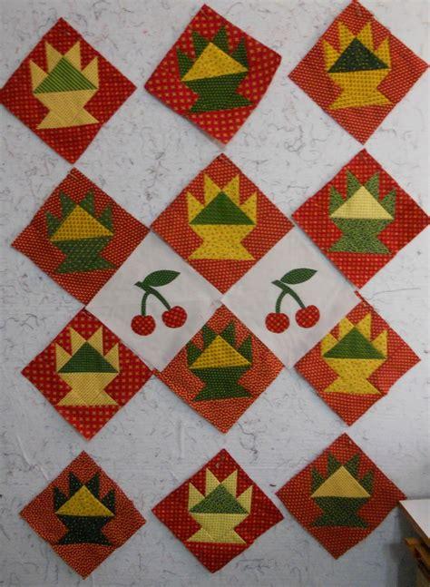Basket Quilt Blocks by Cherry Basket Quilt Blocks