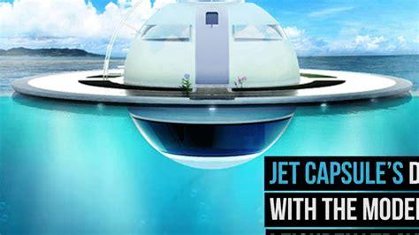 floating boat house ufo floating ufo home youtube