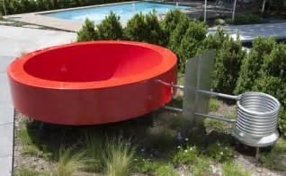 outdoor badewanne tub 2 0 outdoor badewanne orange ideal