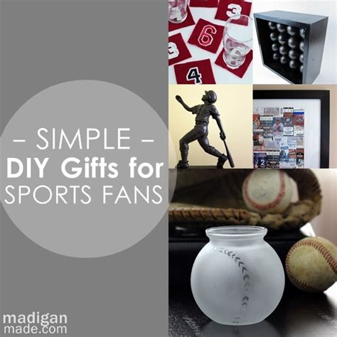 gifts for sports fans simple diy gifts for your sports fan rosyscription