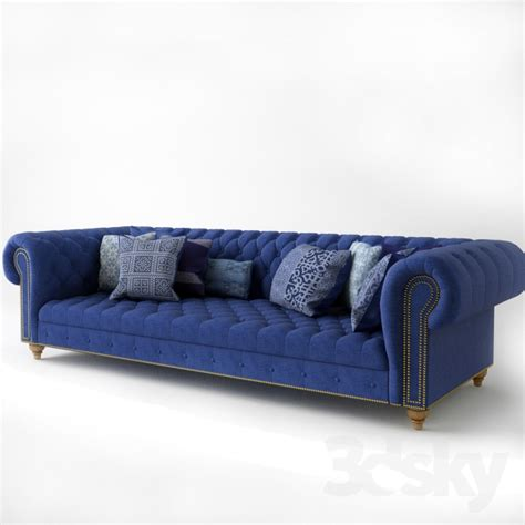 ralph sofa 3d models sofa ralph home indigo chesterfield sofa