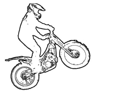 barbie bike coloring page dirt bike coloring pages coloring pages for boys 24