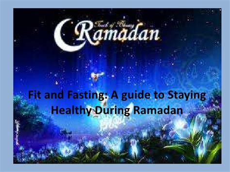 when do i start fasting for ramadan nutrition and exercise during ramadan