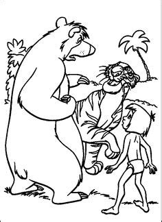 jungle cubs coloring pages jungle book shere khan relaxed jungle book coloring