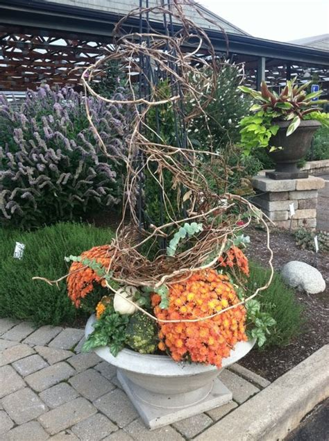 Pinterest Garden Container Ideas Pinterest Fall Garden Ideas Photograph Fall Container Idea