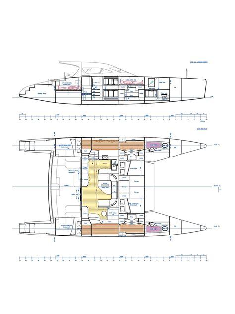 catamaran deck plans nv catamaran kits and plans boat building and custom