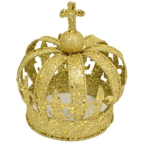 Crown Glitter by Gold Glitter Crown Centerpiece Small Mardigrasoutlet