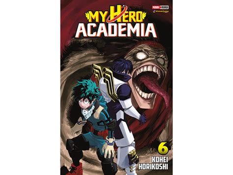 manga my hero academia 6 editorial panini 97 70 en mercado libre