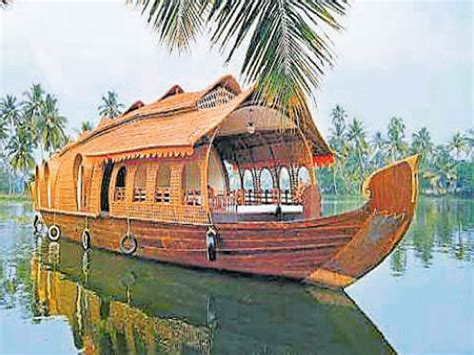 house on a boat go on a boat house sojourn in udupi