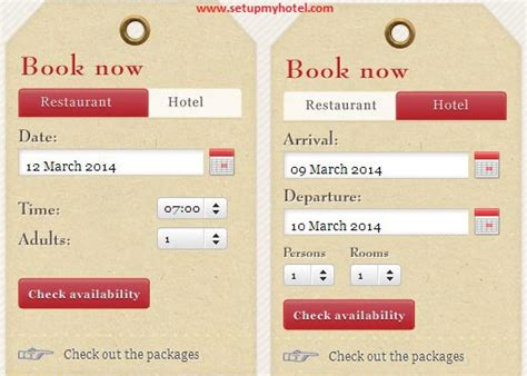 Table Reservations by Checklist For Selecting Booking System For Hotels