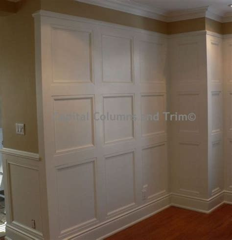 Square Panel Wainscoting Capital Columns And Trim Has 31 Reviews And Average Rating