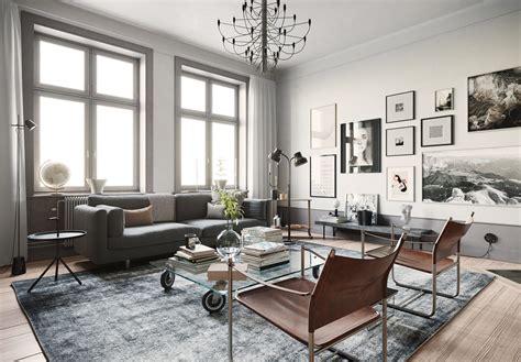 stockholm interior scene room  model cgtrader