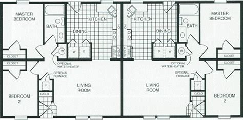 manufactured duplex floor plans prestige manufactured homes duplex 7264