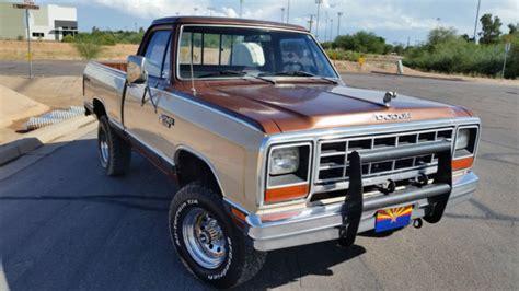 1984 dodge ram truck 1984 dodge ram prospector 4x4 truck