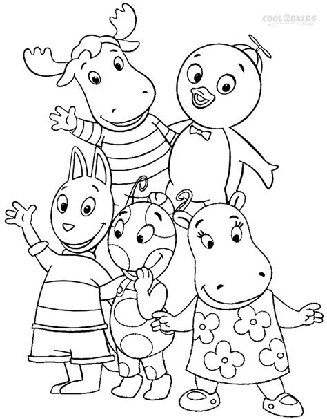 Coloring Pages Backyardigans printable backyardigans coloring pages for cool2bkids