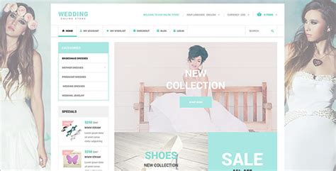 Wedding Accessories Website by 12 Accessories Oscommerce Templates Free Website Themes
