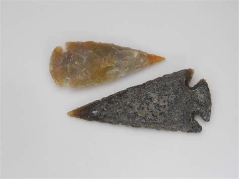 Handmade Arrowheads - flint handmade spearhead collection arrowhead