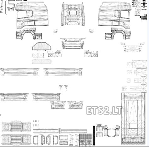 Topline Report Template Template For Scania R Streamline By Rjl Ets 2 Mods