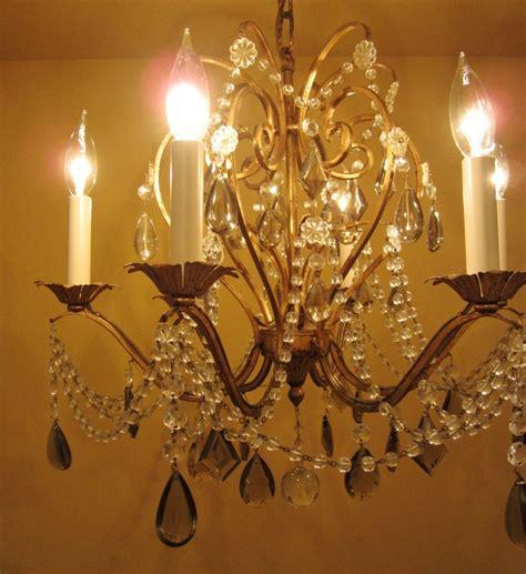 crystal chandelier  lightolier
