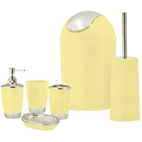yellow bathroom set best 25 yellow bathroom accessories ideas on pinterest
