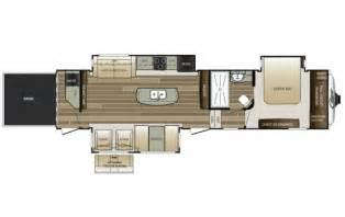 Cougar 5th Wheel Floor Plans by 2016 Cougar 338pat Floor Plan 5th Wheel Keystone Rv