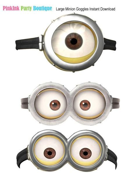printable minion eyes for balloons instant download despicable me inspired balloon stickers