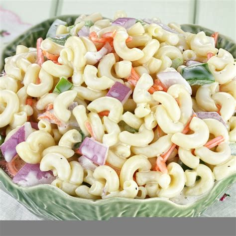 pasta salad recipe cold cold macaroni salad recipe