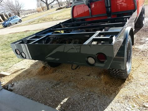 Small Truck Bed Tool Box Flatbed Ideas Diesel Bombers