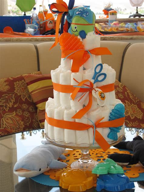 Orange Baby Shower Themes by Cot 233 Weddings And Events Orange And Blue Theme Baby