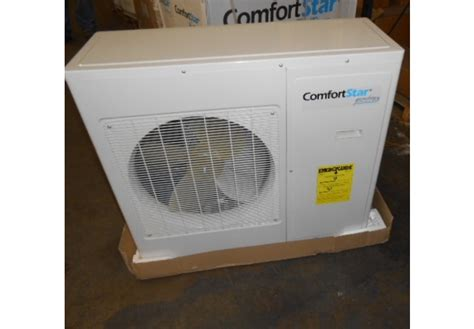 comfort star heat pump surplus city liquidators