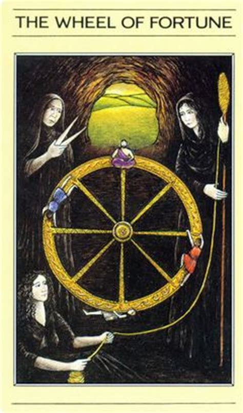 Around The House Wheel Of Fortune by Card Meaning Of Wheel Of Fortune Lotus Tarot