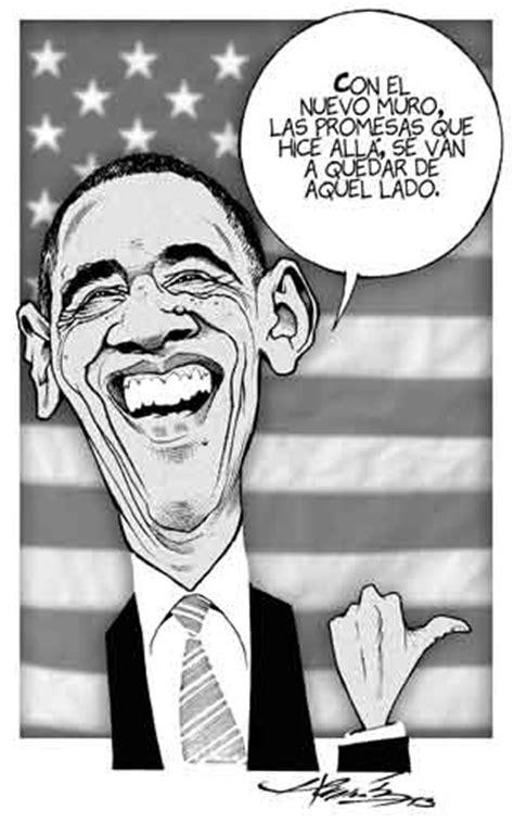 imagenes comicas de obama caricaturas politicas obama quot reforma migratoria quot