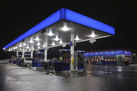 gas station canopy lighting levels gas station canopy lighting levels lighting ideas