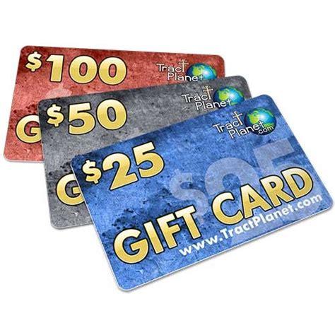 Gift Card Amounts - gift card