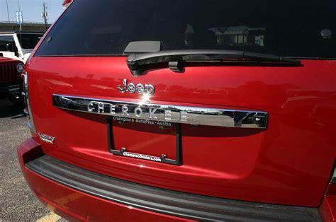 jeep grand cherokee rear jeep grand cherokee chrome rear lift tail gate handle