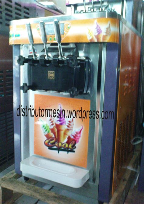 membuat ice cream secara manual mesin soft ice cream mesin ice cream distributor