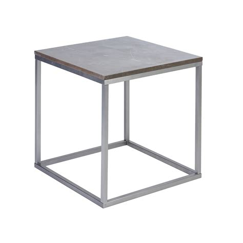 Grey Side Table Marble Side Table Grey Dwell
