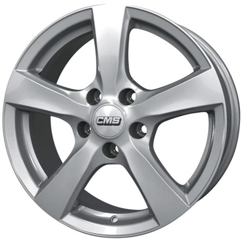 v1 5x100 15x6 0 38 57 1 silver route 66 alloy wheels